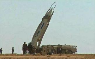 叙利亚军方的飞毛腿战术弹道导弹