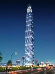 中国国际丝路中心项目效果图