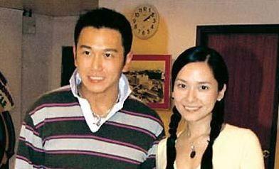 2002年,郭羡妮和温兆伦拍
