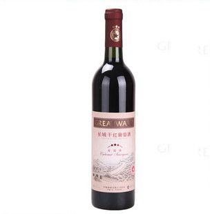 长城干红葡萄酒价格(长城干红葡萄酒普干多少钱一瓶)