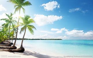 海滩美景图片
