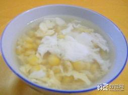 家常玉米鸡蛋汤