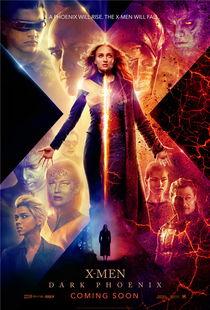 X战警 黑凤凰 全员集结新海报 变种人琴 葛蕾黑化爆发