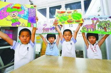 济南四胞胎 龙凤呈祥 今年要上小学了 第A06版 锐读 聚焦 20140602期