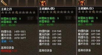 王者风范ACC 屠龙传说 九转套装