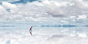 乌尤尼盐湖,误入人间的幻境
