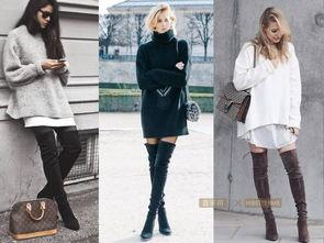 冬天怎么穿裙子好看又不冷 时尚技术流