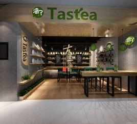 渴了吗兄弟奶茶店 双流店铺装修设计 双流奶茶店装修设计