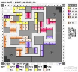 QQ超市4店6口碑摆法 4店6口碑非RMB极限摆法平面图