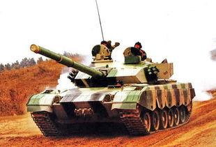 和平使命军演中国陆军99改主战坦克亮相