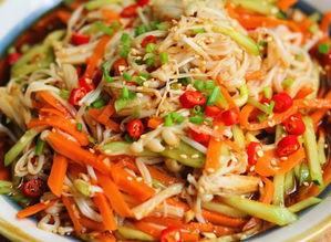 凉拌菜-菠菜金针菇