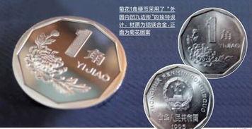 菊花1角硬币只收不付我国硬币知识普及