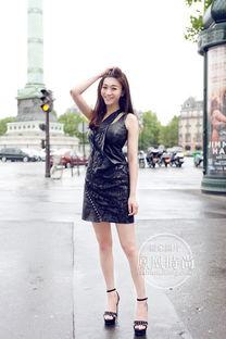 李小冉明道游巴黎身穿数十万服装 探密明星穿衣风格 9