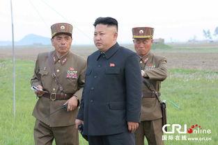金正恩观看炮击训练 批指挥官心不在战场