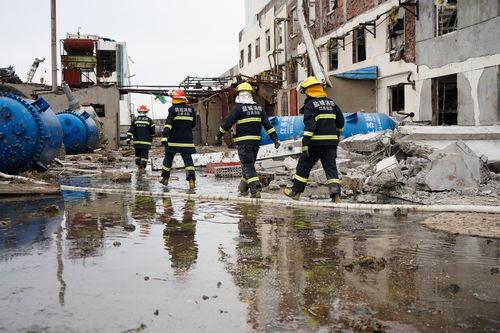 响水天嘉宜公司爆炸事故死亡人数上升至64人