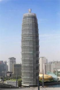 """组图:中原第一高楼筑酷似""""玉米棒""""引吐槽【4】"""