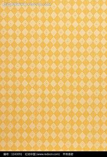 黄色菱格布纹 -黄色菱格布纹图片免费下载 红动网