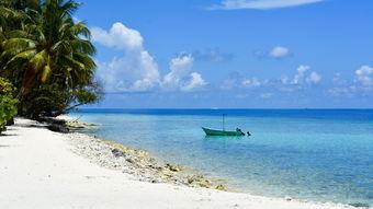 马尔代夫唯美海边风景