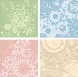 四色扩散潮流背景图片