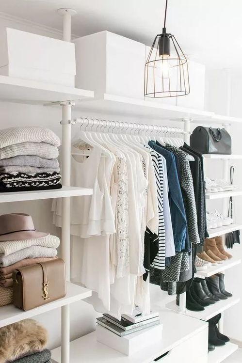 衣柜装衣服的大全