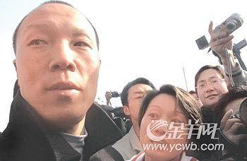 杀妻案重审当庭宣判佘祥林无罪
