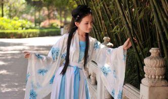校园汉服女神PK 温婉可人似仙女落凡尘一颦一笑尽展中国古典美