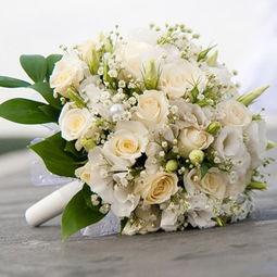 新娘手捧花福州鲜花速递同城北京厦门婚庆鲜花韩式手捧花香槟玫瑰