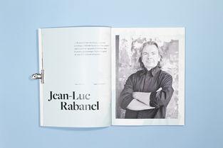 杂志颂歌 双连画册子设计