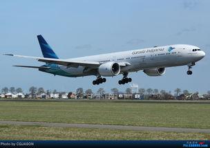 BOEING 777 300ER PK GID 荷兰荷兰阿姆斯特丹斯史基浦 西霍普 机场 Re 印尼嘉鲁达航空 GA 帅气的77W降落图一组