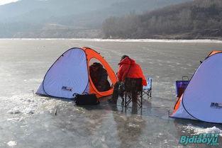 四海钓鱼 欢乐池塘 录制2012冰钓节目