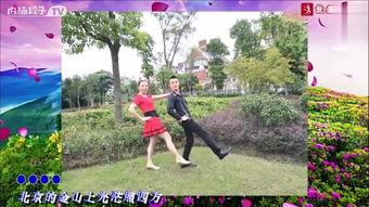 广场舞爱的天堂双人舞北京平四