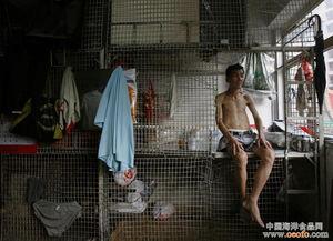 揭香港真实的蜗居生活 生活空间狭小 租金数千元