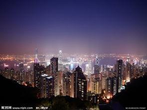 夜里的香港图片