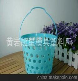 镂空塑料篮怎么养花