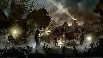 恶灵附身最新游戏壁纸欣赏 恐怖游戏