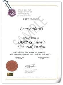 股票分析师 从业资格证