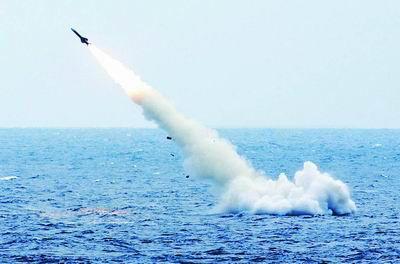潜艇水下发射导弹