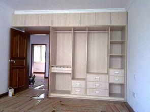 刷完墙还能做整体衣柜