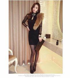 孙允珠高跟鞋黑丝袜超短包臀裙,苗条的身材 端庄的姿态