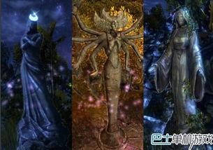 魔法门10互动场景公开 竟有少女 妻子神造像