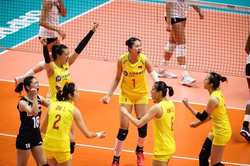 中国女排七连胜
