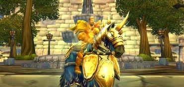 重新拾起的圣光 魔兽故事 圣骑士的军马