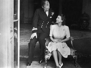 伊丽莎白二世与菲利普·蒙巴顿