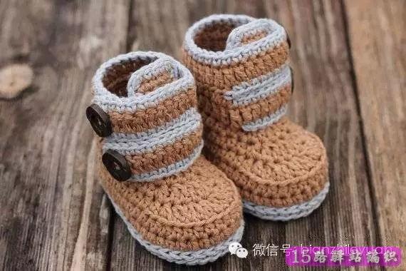 宝宝鞋编织的教程