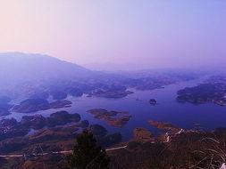 仙岛湖深度灵性之旅 二 登龙脉望群山