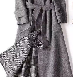 双面羊绒大衣图