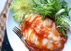 番茄鳕鱼鱼的家常做法