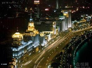 上海外滩夜景-十一黄金周景点推荐 上海外滩