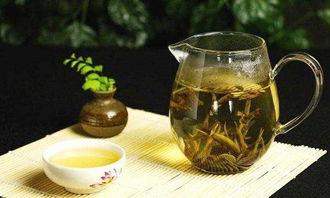 喝龙井茶饿