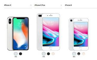 苹果iphone8手机参数 iPhone X 8 8 Plus规格对比